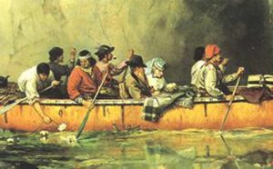 The Voyageurs: Paddlers, Traders, Explorers of Wilderness