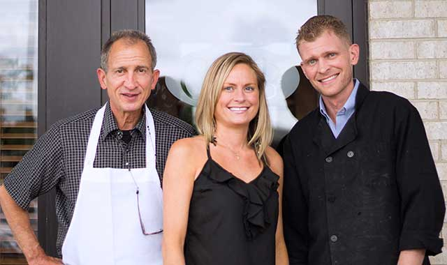 Ciao Bella owner Talia Castrogiovanni with her dad, Nick, and brother, Nikko.