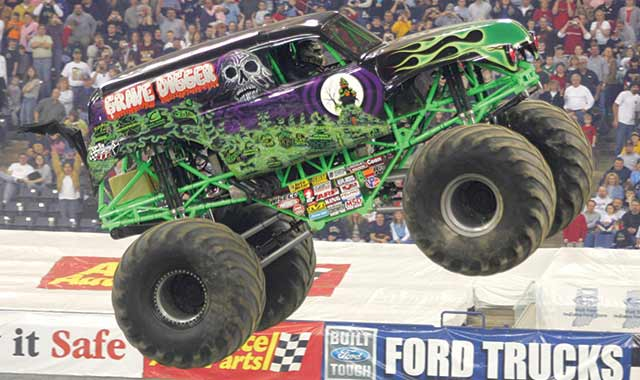 See the biggest performers on four wheels: 12-foot-tall, 10,000-pound machines racing and ripping up a custom-designed track full of obstacles to soar over -- or smash through. Starring the world-famous Grave Digger, the most decorated Monster Jam truck ever. Three shows April 10-11 at BMO Harris Bank Center in Rockford.