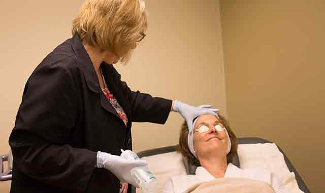 Dr. Linda Razbadouski, of InnovaMed Aesthetic Care, in Rockford, performs a variety of procedures to help patients regain a more youthful appearance. (Samantha Ryan photos)
