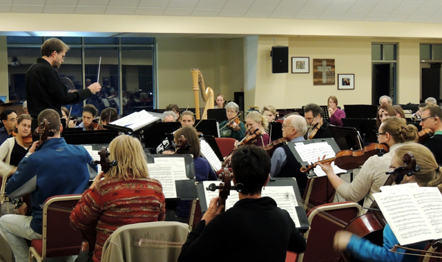 The Lake Geneva Symphony Orchestra, an independent nonprofit group, is built upon the work of volunteer musicians who love to perform.  (Sarah Soenke photo)