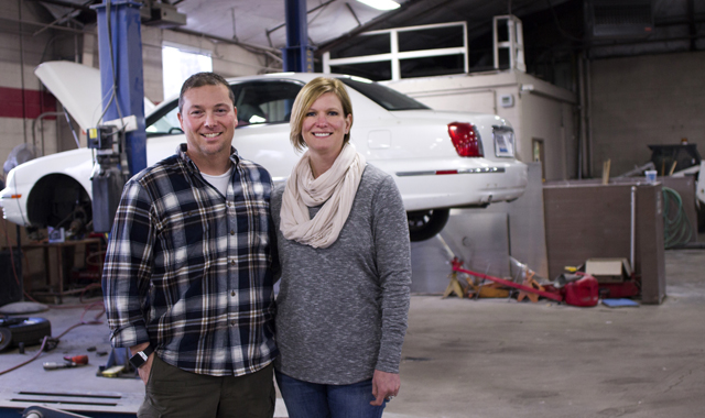 Ken and Rhonda Tomlinson, owners of Auto Enhancers, in Rockford, believe in maintaining a high ethical standard for their automotive business.