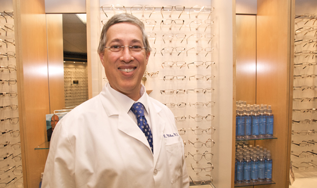 At Miller Eye Center, Dr. Richard Miller and his team serve patients using some of the area's most advanced eye surgery technology and age-related eye care procedures.