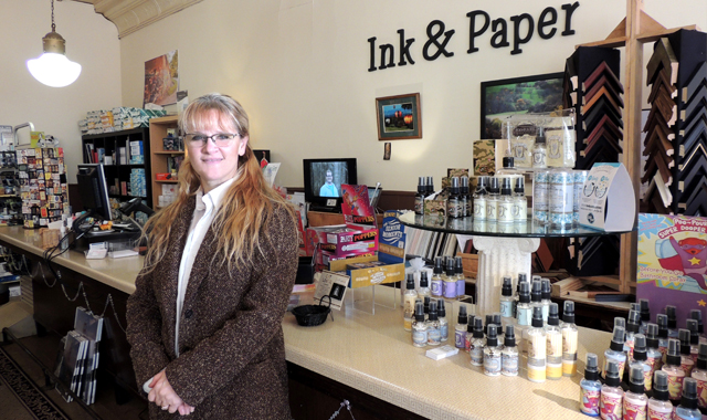 Amy Laskye constantly adapts her small business, Ink & Paper, to meet her customers' needs and to challenge her own creative skill set.