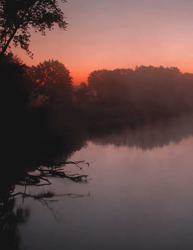 First Light, photography by David C. Olson