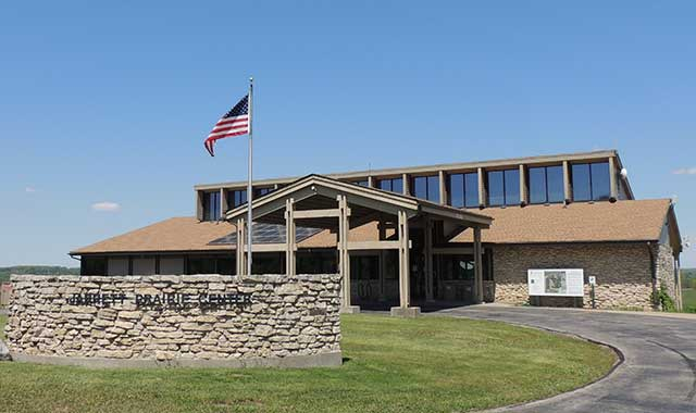 The new Jarrett Prairie Center Museum will open by Labor Day this year.