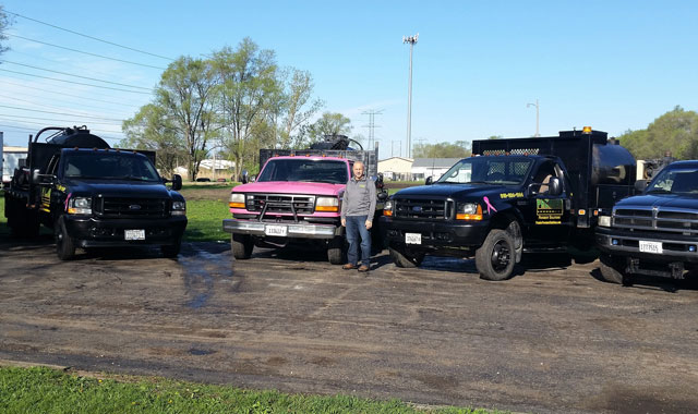 Larry Lazzerini, owner of Premier Pavement Solutions in Loves Park, knows how to adapt to a changing business climate.