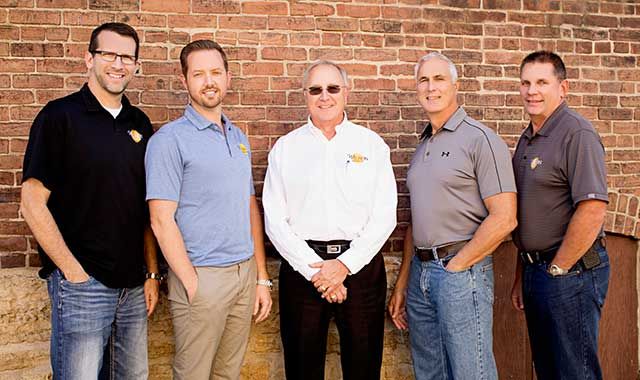 Joel Kortemeier, Nik Maffioli, Louie Maffioli, Paul Maffioli and Steve Drummond believe Wilson Electric is well-positioned for continued success.