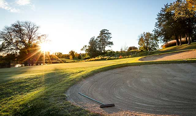 Improvements in club design now allow golfers to navigate wider stretches of fairways, like those at Ledges Golf Course, in Roscoe, Ill.
