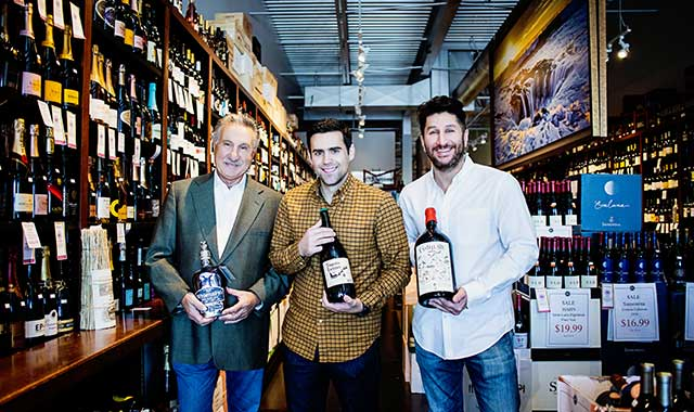Tony Artale Sr., Aaron Sleger and Anthony Artale Jr. share their expertise on wine, beer and spirits at Artale & Co., 6876 Spring Creek Road, Rockford.