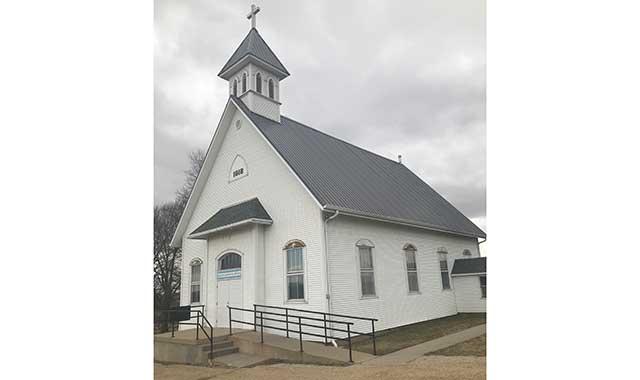 Oakley United United Methodist Church, Juda, Wis.