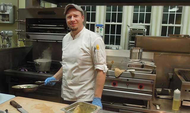 Executive Chef Joshua Roberts. (Tom Witom photo)