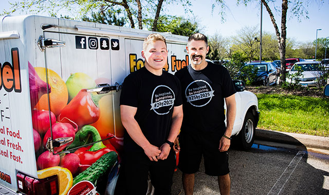 Ethan Taylor has lost 175 pounds with Jim McIlroy's help.