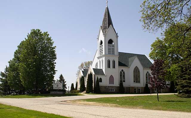 Jefferson Prairie Lutheran Church, Poplar Grove, Ill.