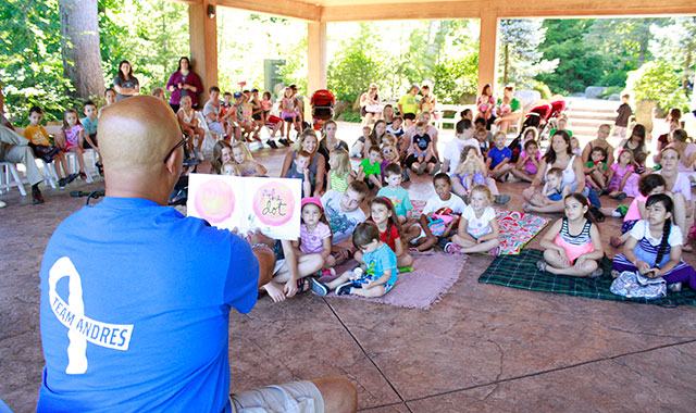 Anderson Japanese Gardens, in Rockford, hosts special camps and events for area youths throughout the summer months.