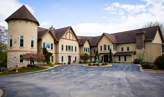 The Goldmoor Inn resides on a spacious property at 9001 W. Sand Hill Road, Galena. Most guests who visit come for a relaxing getaway.