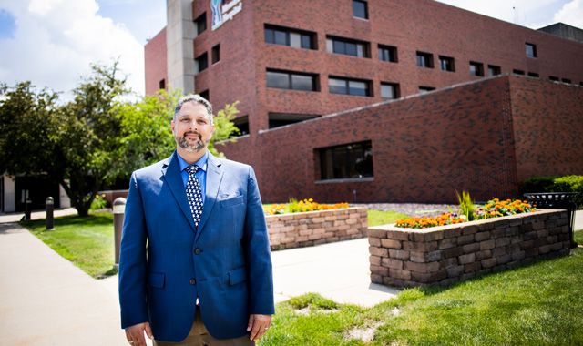 At one point, Mark Gridley wasn't sure he'd live beyond age 30. His journey to becoming President and CEO of FHN is proof that it's OK to accept help, and it's important to work hard. (Samantha Behling photo)