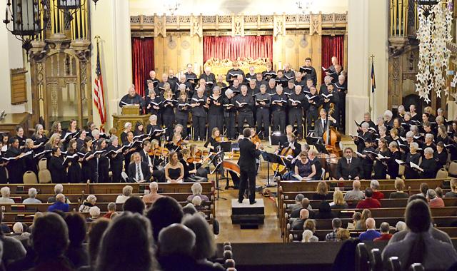 "Rockford Choral Union presents Handel's ""Messiah"" Nov. 30 and Dec. 1 at Emmanuel Lutheran Church, in Rockford. (Rockford Choral Union photo)"