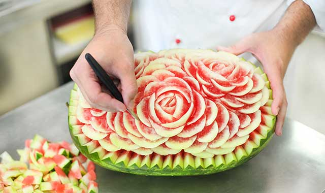 Learn about the art of Thai fruit carving at Womanspace, in Rockford, on Nov. 5