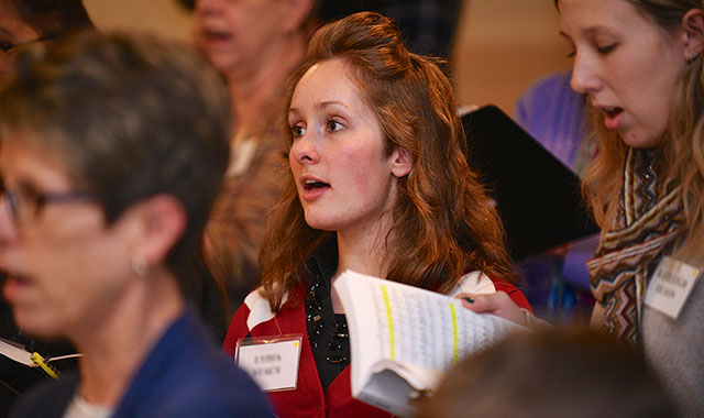 """More than 120 chorus singers from 60 churches around the region are going to perform """"Messiah"""" this year at Emmanuel Lutheran Church, in Rockford. (Rockford Choral Union photos)"""